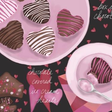 Valentine's Day Chocolate Love