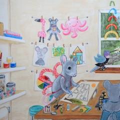 preschool art room
